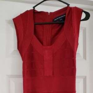 French Connection Red Dress Size 8